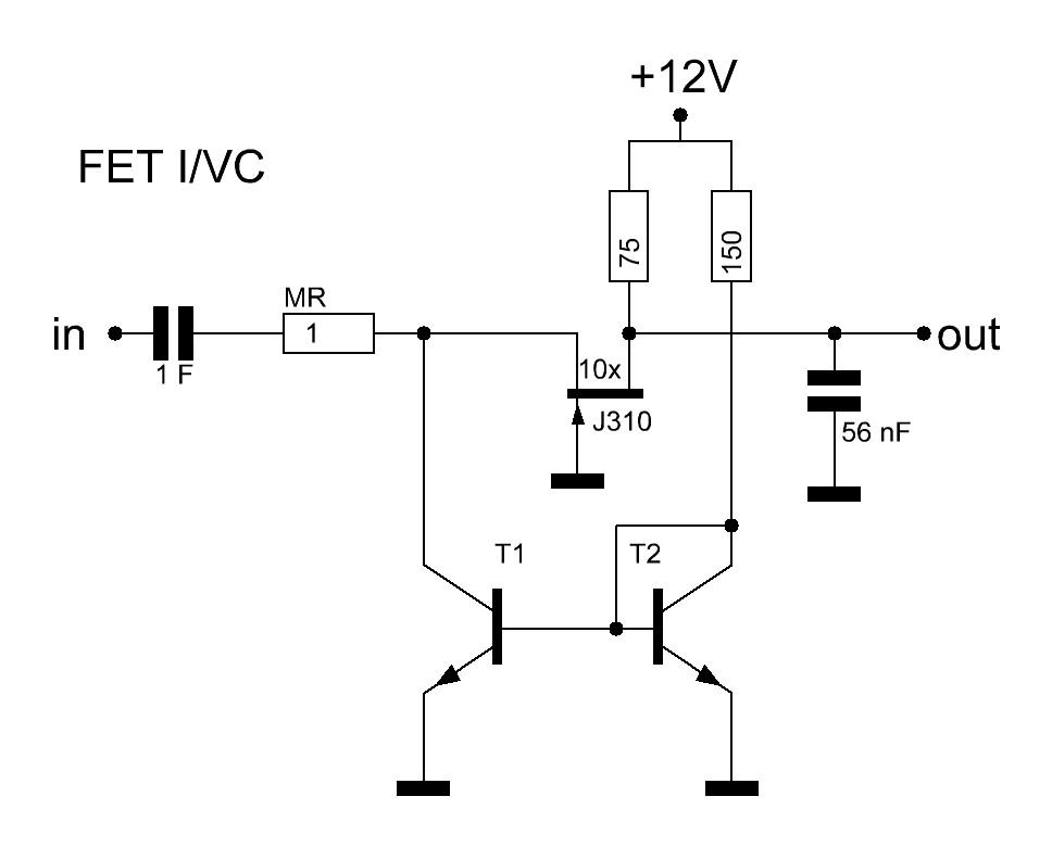 simple fet op amp circuit