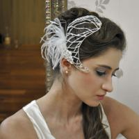 Wedding Hair Bands Uk | bridal head piecebridal hair band ...
