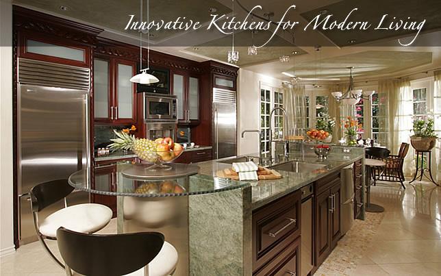 Kitchen designer and interior designer Orange County by Design - designer kitchens