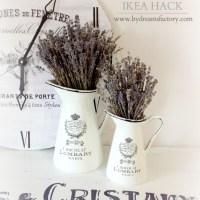 DIY French Vases (Ikea hack)