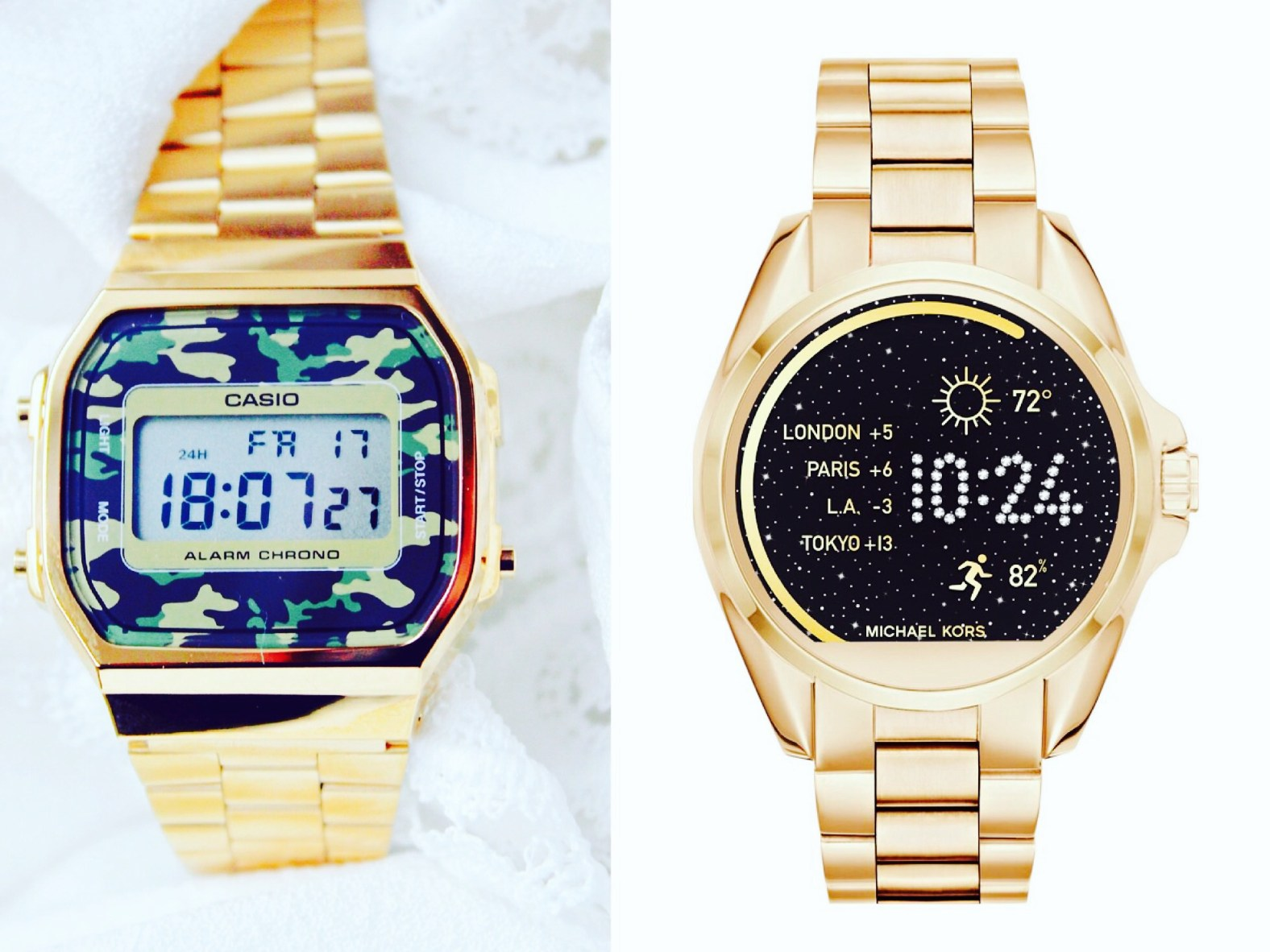 Casio retro vs MK Access