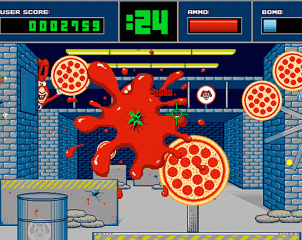Noid's Super Pizza Shootout