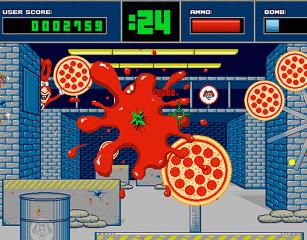 Noid's Super Pizza Shootout