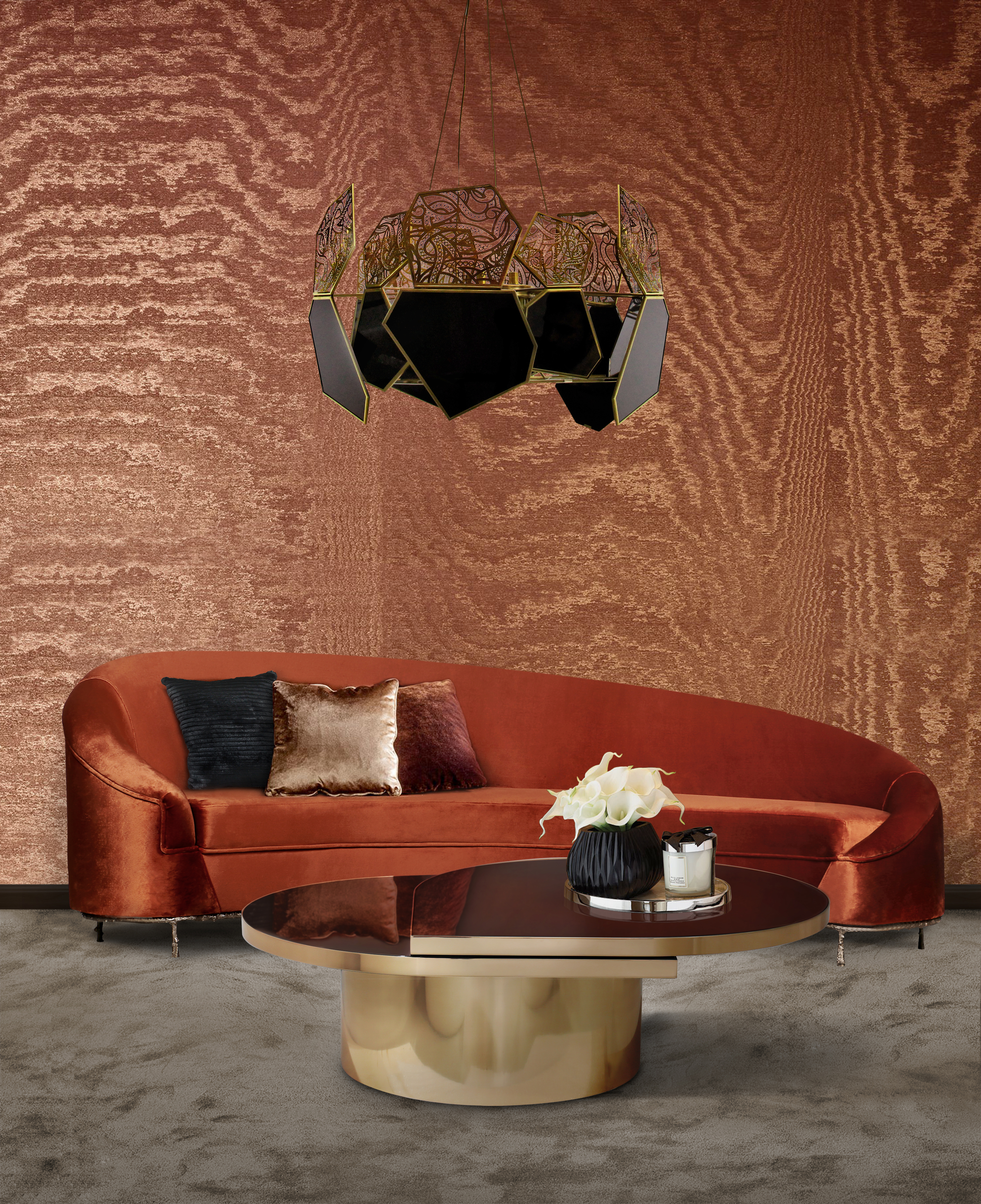 Metallic Animal Print Wallpaper Inspirations Amp Ideas Autumn Colors Ideas To Use In