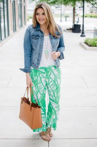 Printed Pants Outfit - Lilly Pulitzer Palazzo Pants | By ...
