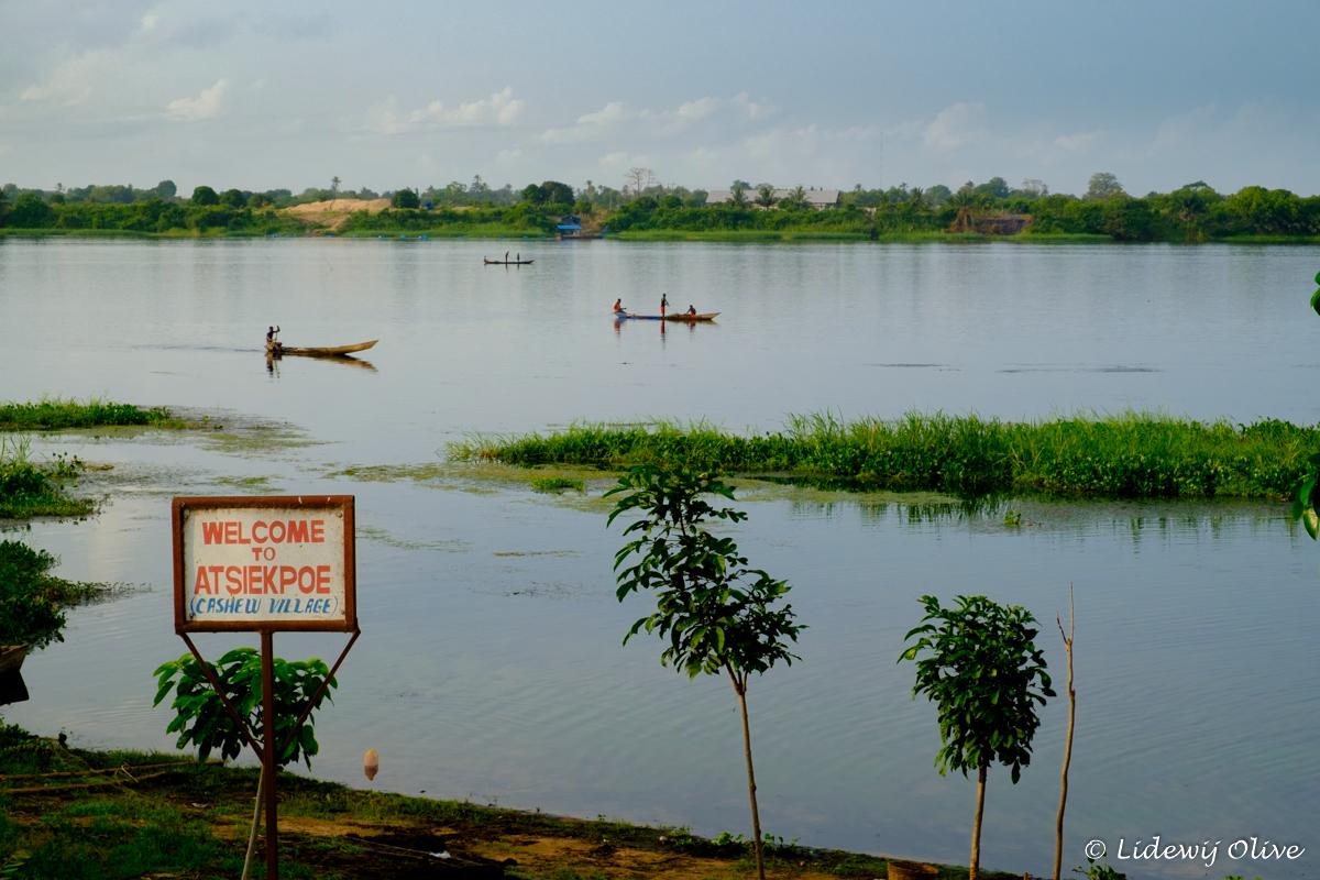 welcome to atsiekpie, a tiny village in Ghana