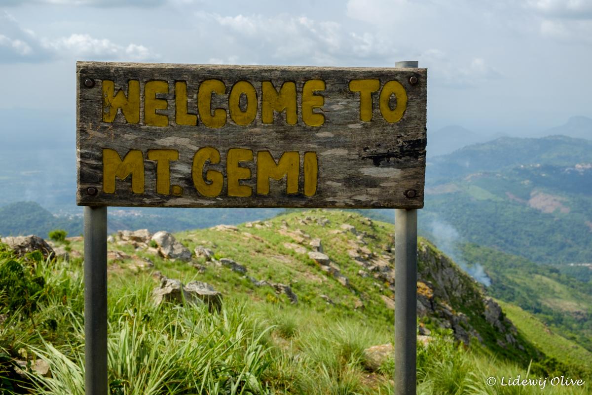 welcome to mt. gemi, a mountain in Amedzofe, Ghana
