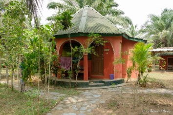 Hide out lodge in Butre, Ghana