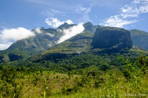 View during our hike up Mount Mulanje