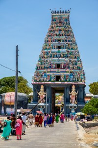 The big Nainativu Nagapooshani Amman temple