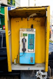 Old phone booth, Colombo