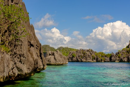 Beautiful cliffs in Coron