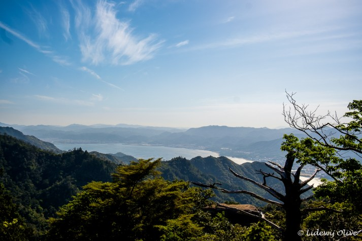 The view from the top of mount MIsen
