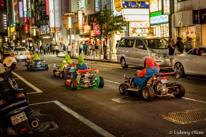 Playing Mario Kart IRL on the streets of Tokyo!