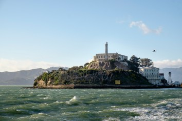 The island of Alcatraz