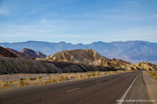 The road to death valley