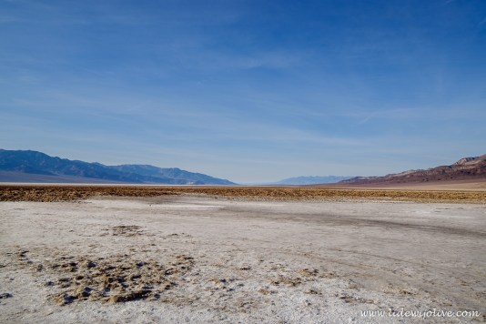 Baswater Basin, death valley