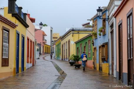Street of Los llanos de aridane