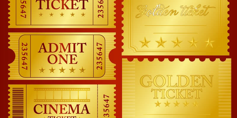 Photoshop Ticket Template - ByPeople (12 submissions) - admit one ticket template