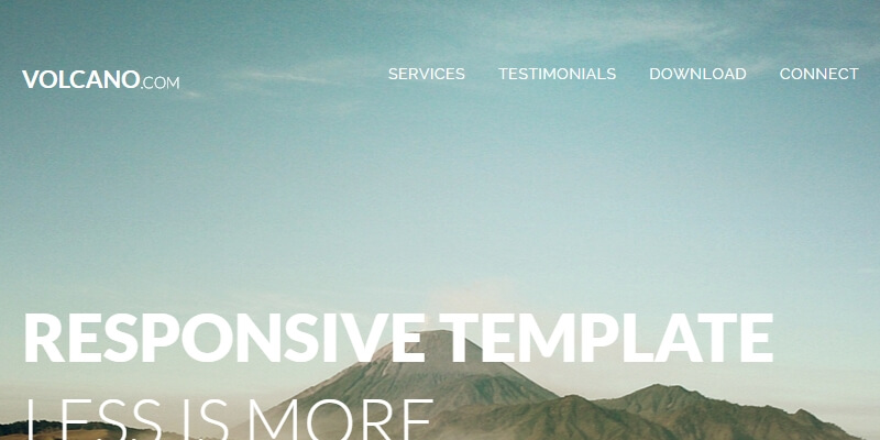 Volcano HTML5 Responsive Zurb Foundation Template Bypeople - zurb email templates