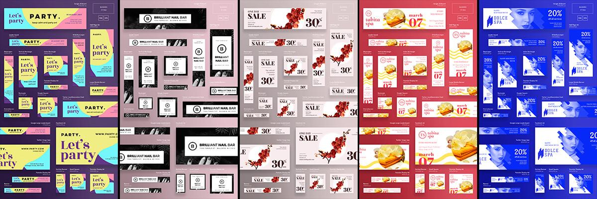 2500+ Web Advertisement Banner Templates Bundle 120 Design Ideas