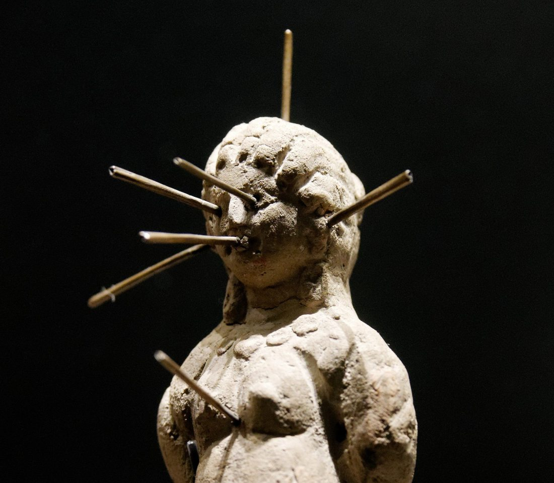 """Voodoo Doll Louvre"" by Jastrow licensed under CC BY 2.5 cropped by Nick Byrd"
