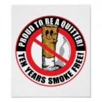 10 Years Smoke Free