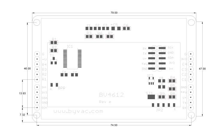 i2c amp serial 128x64 lcd with keypad interface arduino raspberry pi