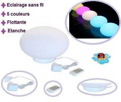 Ovale Schwimmende Lampe 28CM C\/02 KOKIDO Umgebungslicht - lampen ausen led