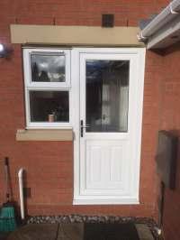Back door and window - C-Thru Windows