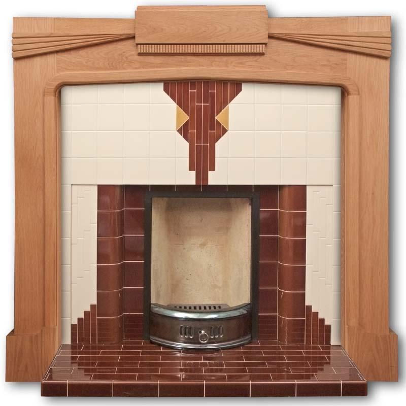 Albemarle Art Deco Fireplace Insert Twentieth Century