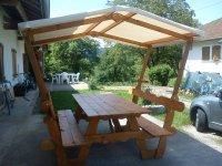 Salon de jardin avec un toit - Cabanes and co