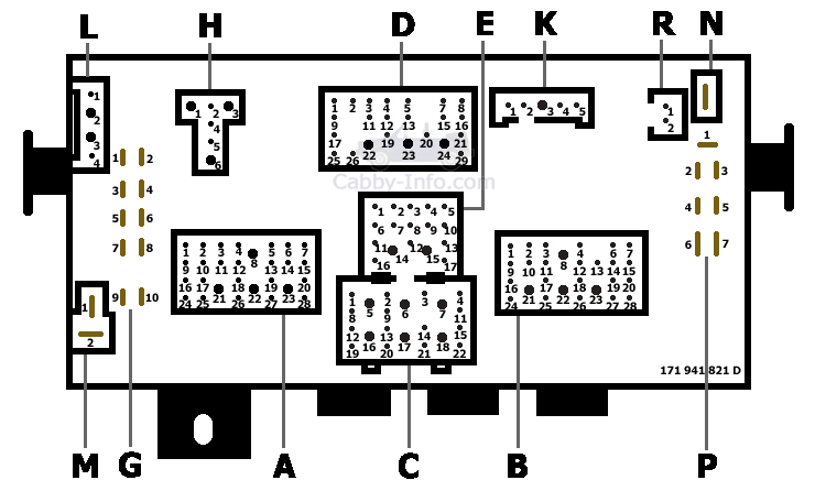 99 vw cabrio fuse diagram