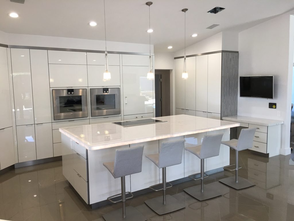 kitchens kitchen remodeling phoenix az White Quartz Countertop Installation Phoenix