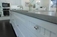 Concrete Kitchen Countertops - Cabinets by Graber
