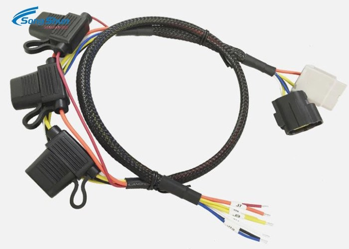 Complex Custom Made Automotive Wiring Harness Bare Copper With