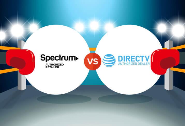 Compare Spectrum vs DIRECTV CableTV