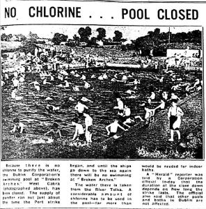 Cabra Baths unclean 1951