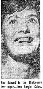 Joan Bergin 1963