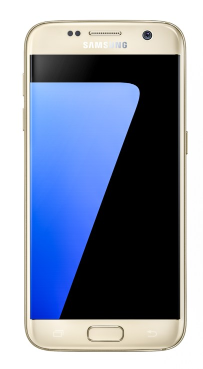 Galaxy S7 Gold Platinum Front