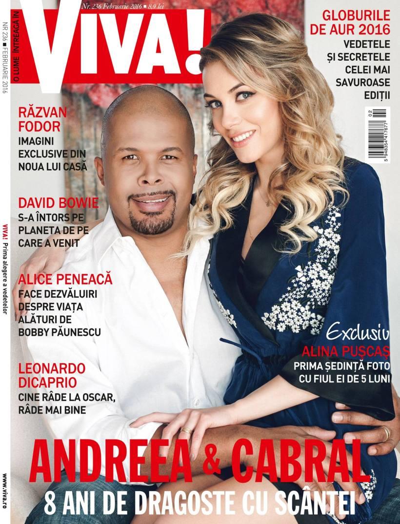 coperta Viva Cabral si Andreea
