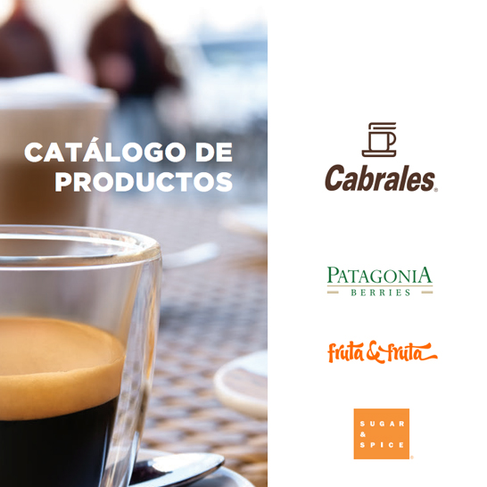 Catálogo de productos Cabrales - 2016