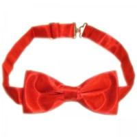 Boy Communion Red Bow Tie   Cachet Kids