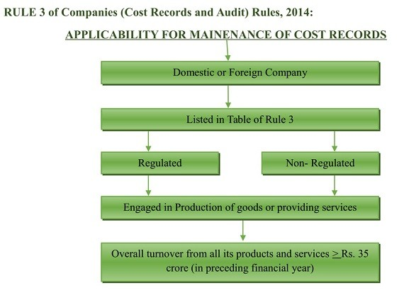Cost records and Cost audit under companies act, 2013 - net worth form