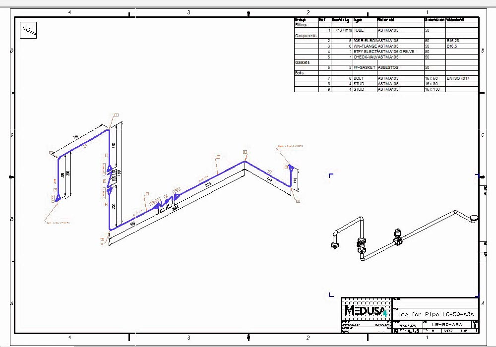 3d Piping Diagram - Wiring Diagram Progresif