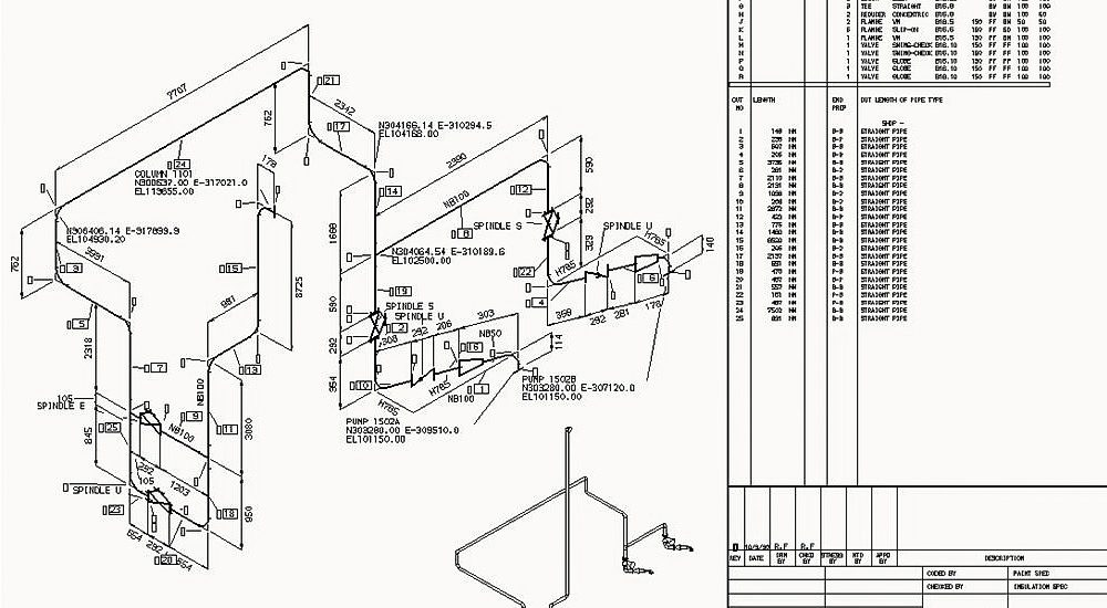 piping isometric drawing software