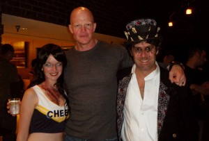 David Heck, Robin Hume and Me, Robin, and Derek Mears of Friday the 13th (2009), The Hills Have Eyes II, Cursed, Men in Black II, The Tick