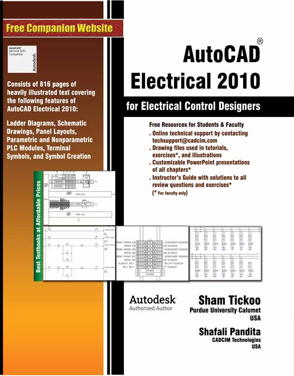 AutoCAD Electrical 2010 for Electrical Control Designers - autocad designers