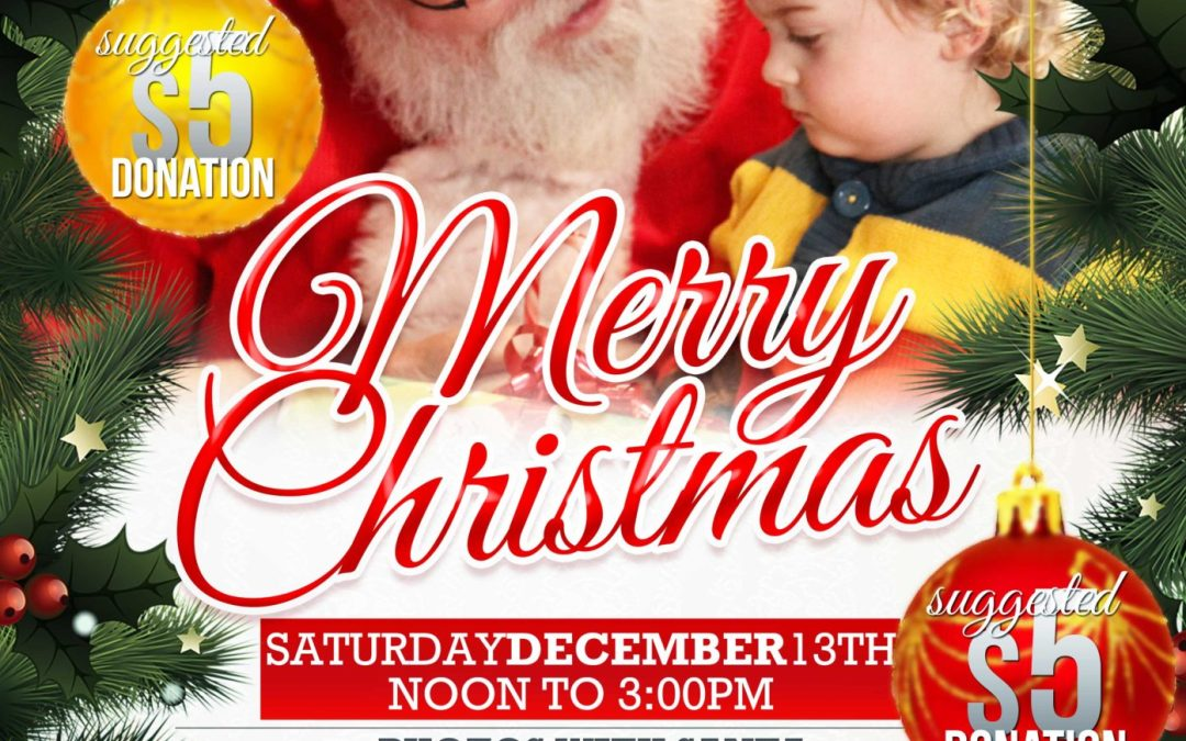 Santa is coming to the Duck in and Eat in Blackduck, MN!