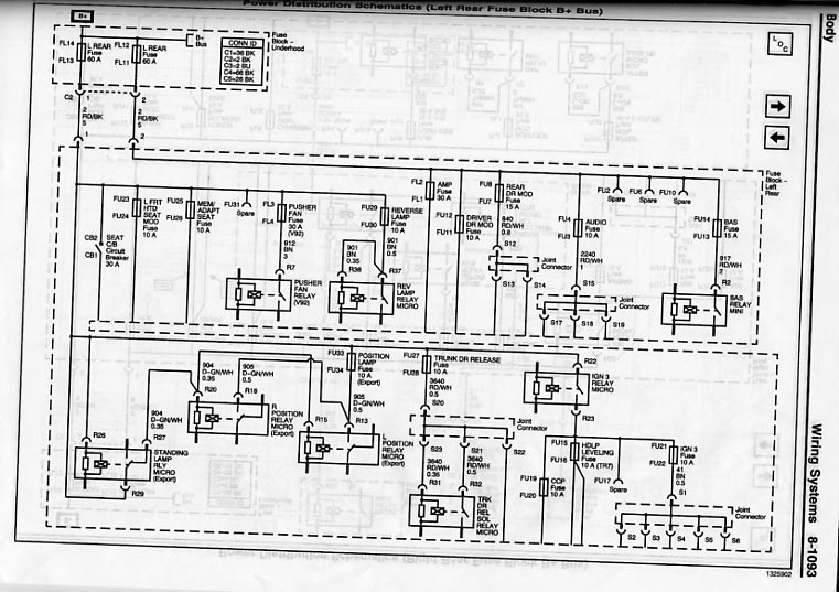 Cadillac Sts Wiring Diagram Wiring Diagram